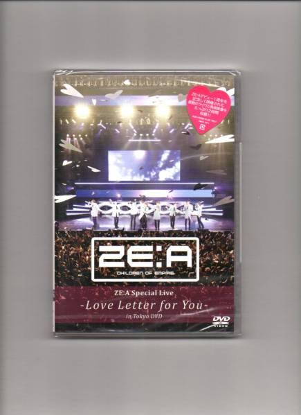 新品/ZE:A ゼア/Special Live Love Letter for you in Tokyo DVD コンサートグッズの画像