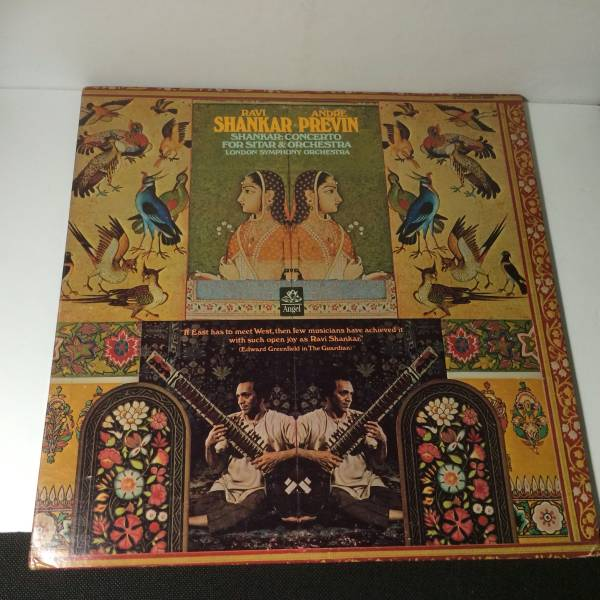 LP RAVI SHANKAR Concerto for Sitar and Orchestra SFO-1-36806 ライブグッズの画像