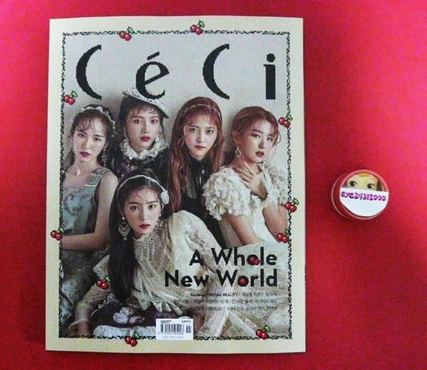Red Velvet レッドベルベット 韓国雑誌11月号表紙&特集12P