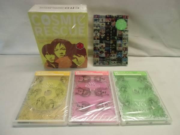 Vb52 DVD Film V6 act Ⅲ Ⅳ コズミックレスキュー カミセン コンサートグッズの画像