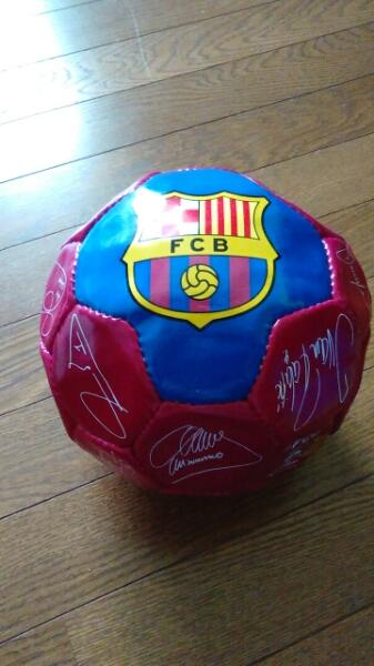 【非売品】アパマンショップ FCバルセロナサッカーボール グッズの画像