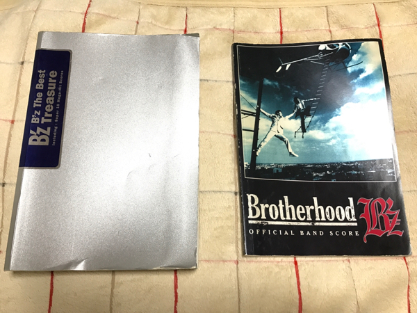B'z バンドスコア TRESURE & BROTHERHOOD