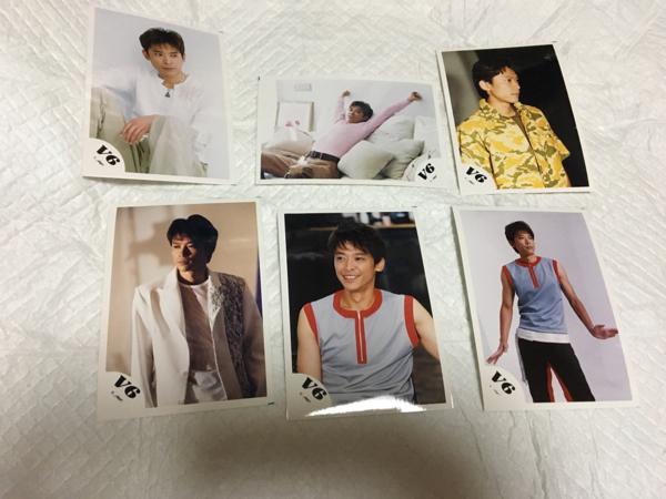 ☆☆V6 坂本昌行 写真 6枚セット☆☆