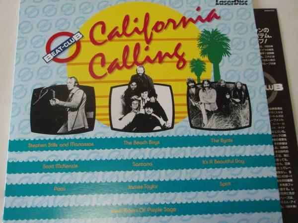 カリフォルニア・コーリング ★ビートクラブ Vol.3 LD q*si 5000円以上でゆうメール送料無料!_画像1