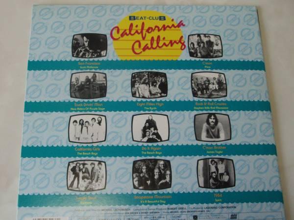 カリフォルニア・コーリング ★ビートクラブ Vol.3 LD q*si 5000円以上でゆうメール送料無料!_画像2