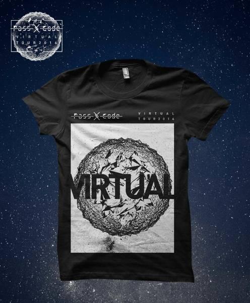 新品 PassCode(パスコード) VIRTUALツアーTシャツ『V//TOUR』