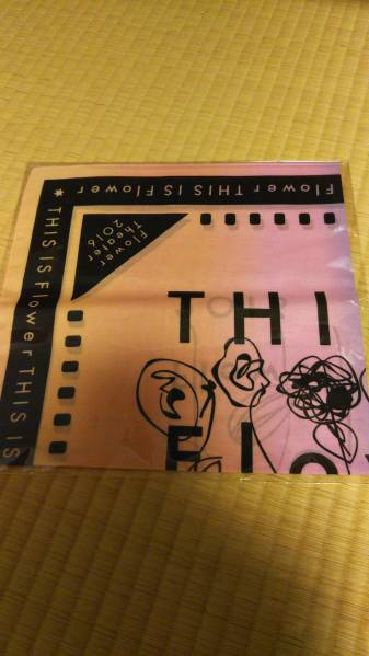 THIS IS flower ツアーグッズ バンダナ