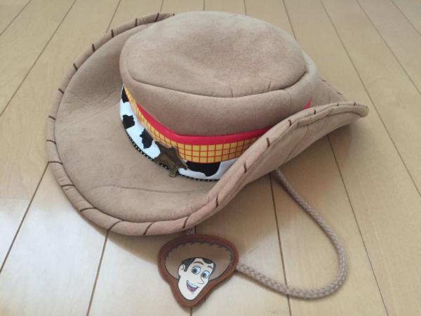 美品 トイストーリー ウッディ 帽子 ハット TDR購入 ウッディー ディズニーグッズの画像