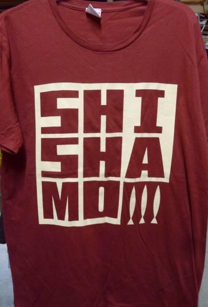 SHISHAMO ロゴTシャツ USED M
