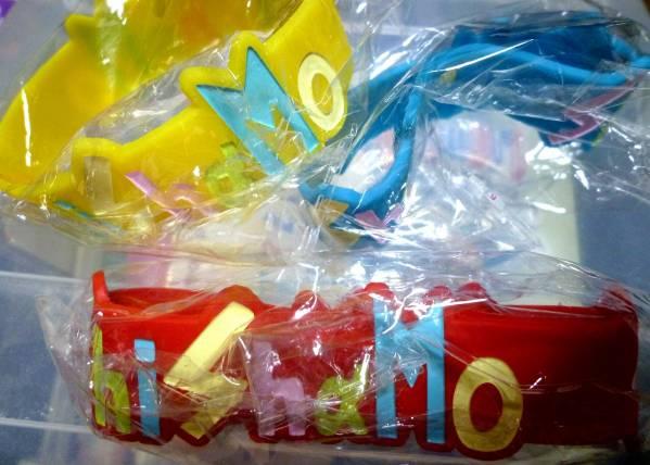 SHISHAMO マスキングテープ ラバーバンド × 4 セット ライブグッズの画像