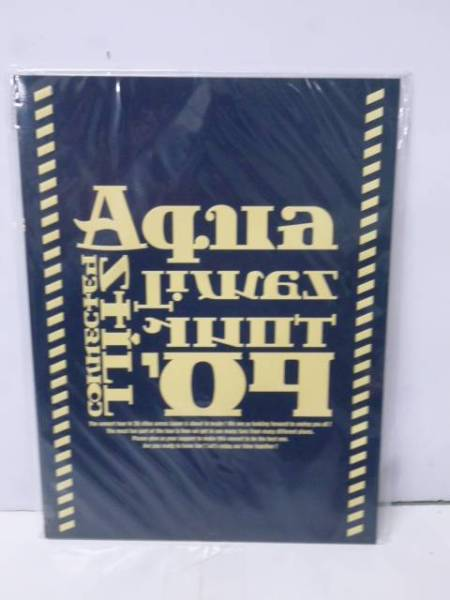 Aqua Timez アクアタイムズ tour09 パンフレット
