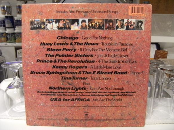 貴重 WE ARE THE WORLD★有名歌手12人直筆サイン USA FOR AFRICA_画像3