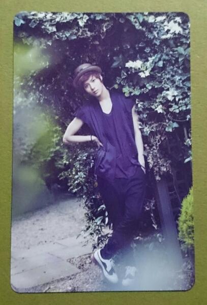 SHINee テミン The firsT トレカ 即決 カード 日本盤 Taemin