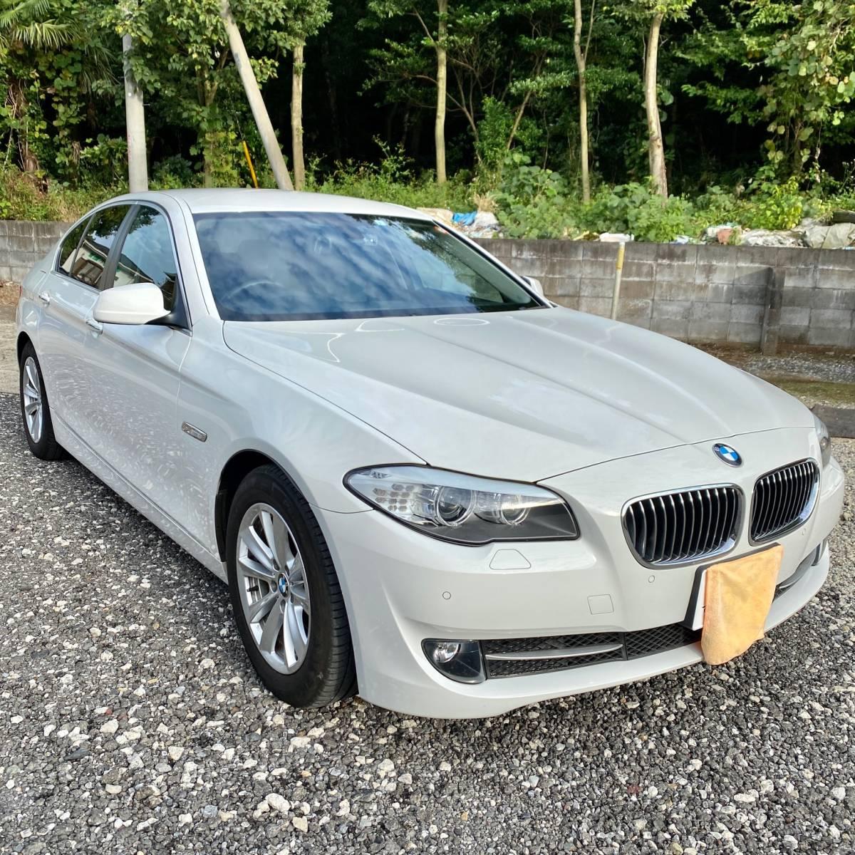 「【クリーンディーゼル】BMW☆523d☆ブルーパフォーマンス☆ハイラインPKG☆ナビ☆TV☆Bカメラ☆ETC☆レザーシート☆シートヒーター☆」の画像1