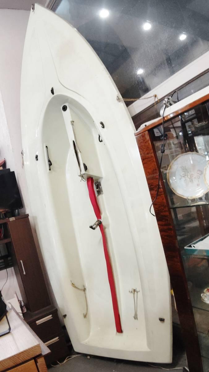 「【引取限定】セーリングディンギー ヨット 360cm 長期保管品 現状品(ジャンク扱い)」の画像2