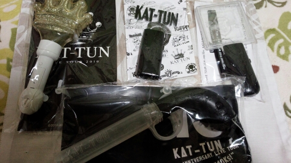 KAT-TUN☆ペンライト☆2010-2016☆