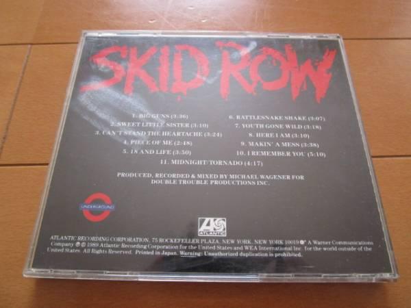 ☆★CD/スキッド・ロウ/SKID ROW ★☆_画像2