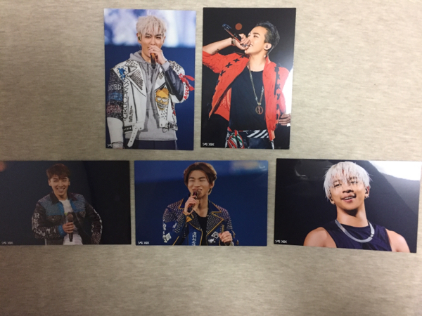 BIGBANG ファンクラブ限定 VIP 2015年 バースデーカード