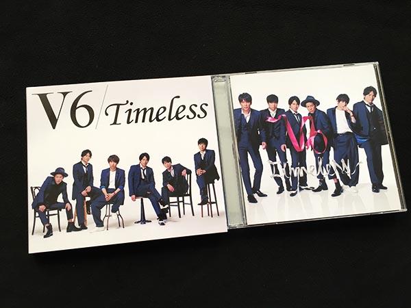 CD+DVD■V6 Timeless 初回限定B盤