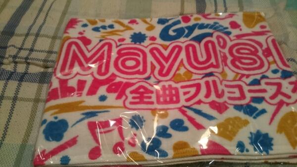AKB48渡辺麻友マフラ―タオル ライブ・総選挙グッズの画像