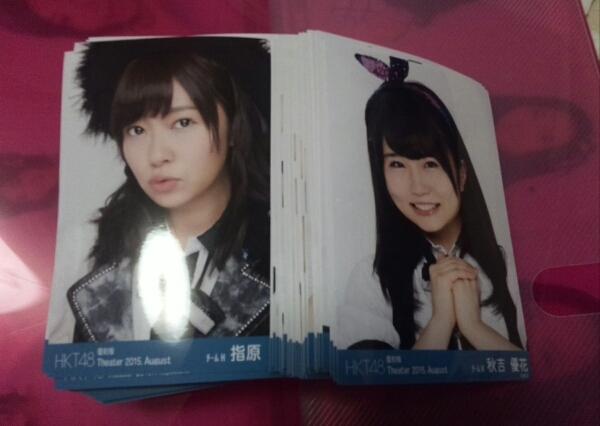 HKT48 月別生写真 2015年8月復刻版 全種類 ライブグッズの画像