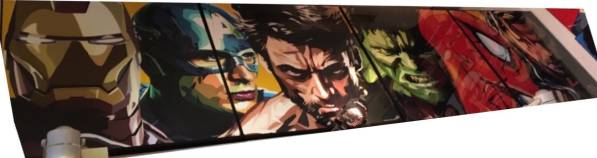 タイ発!!ArtPop ポスター『アベンジャーズ』サイズM 4枚セット