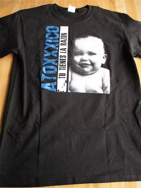 ATOXXXICO Tシャツ Tu Tienes La Razon 黒M / masacre68 larm