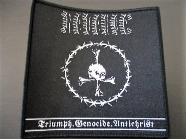 REVENGE 刺繍パッチ ワッペン triumph / conqueror blasphemy