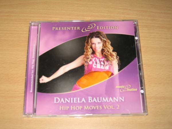 CD「DANIELA BAUMANN HIP HOP MOVES Vol.2」エアロビクス