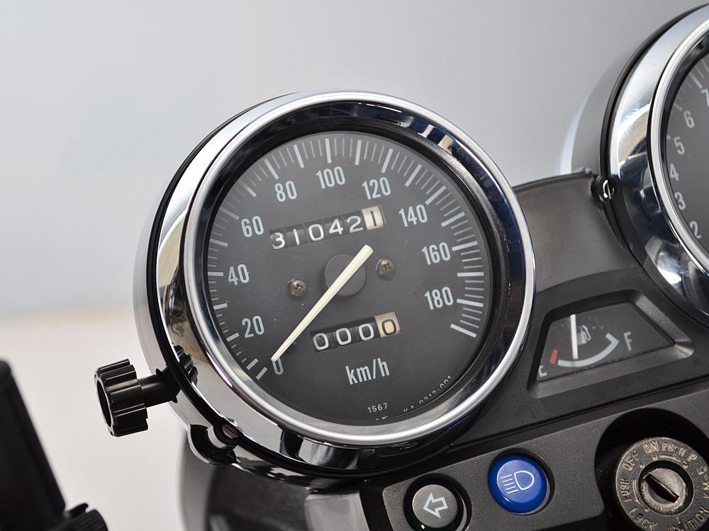 「業販75万 ZRX400 2仕様 ZR400E メーター距離31,042km 車検令和4年9月迄 即決落札で安心整備・記録簿付と前後タイヤ新品と前後ブレーキOH」の画像3