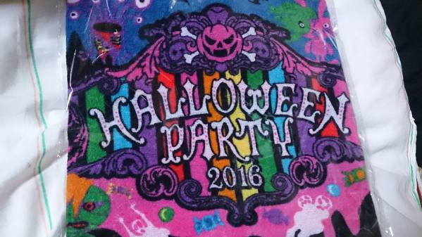 ★VAMPS HALLOWEEN PARTY2016 Goodsタオル新品未開封品