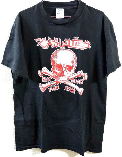 Casualties Tシャツ,Discharge,Exploited,GBH,Partisans