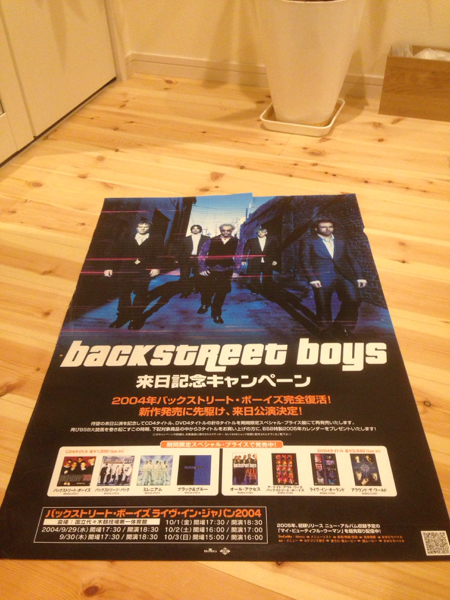 backstreet boys バックストリートボーイズ ポスター 洋楽
