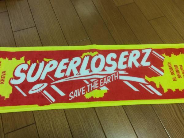♪SUPERLOSERZ SAVE THE EARTH マフラータオル♪KREVA