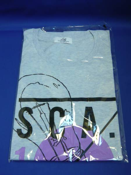 SCANDAL LIVE HOUSE 10DAYS Tシャツ 大阪限定ブルー Lsize