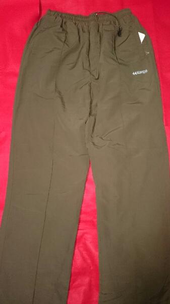(новый товар)kaepa обратная сторона флис. брюки женский LL зеленый