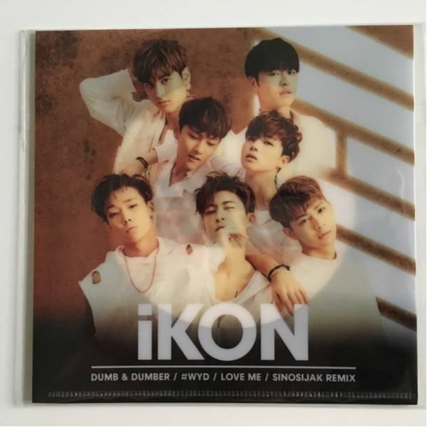 ★非売品★iKON アイコン CD/DVD収納クリアファイル