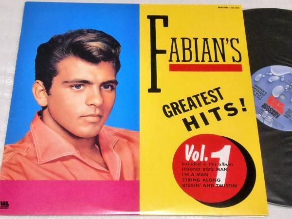 LP FABIAN'S/ファビアン/GREATEST HITS VOL.1_画像1