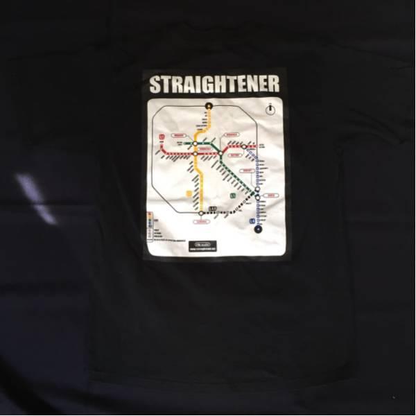 ストレイテナー Tシャツ Sサイズ STRAIGHTENER バンド ロゴ 黒