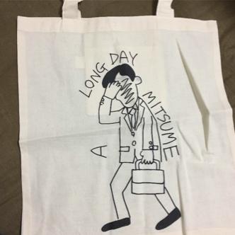 ミツメ トートバッグ A LONG DAY Tour