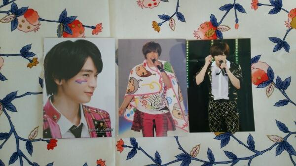 知念侑李 カウコン(2015-2016)フォトセット(未使用)+生写真