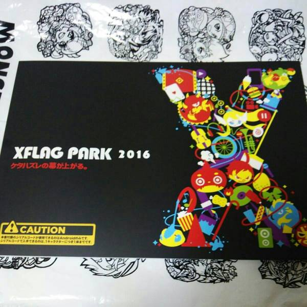 XFLAG PARK2016限定パンフレット シリアル付