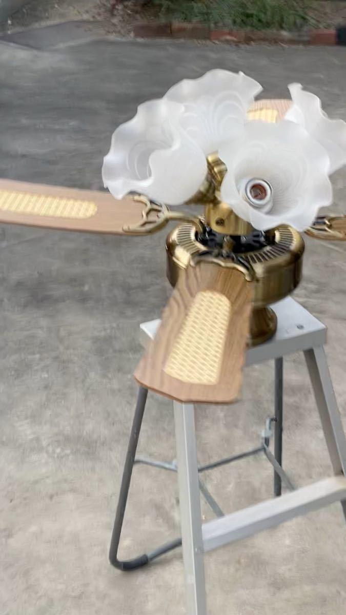 信頼のTOSHIBA製シーリングファン天井照明 動作確認済良品