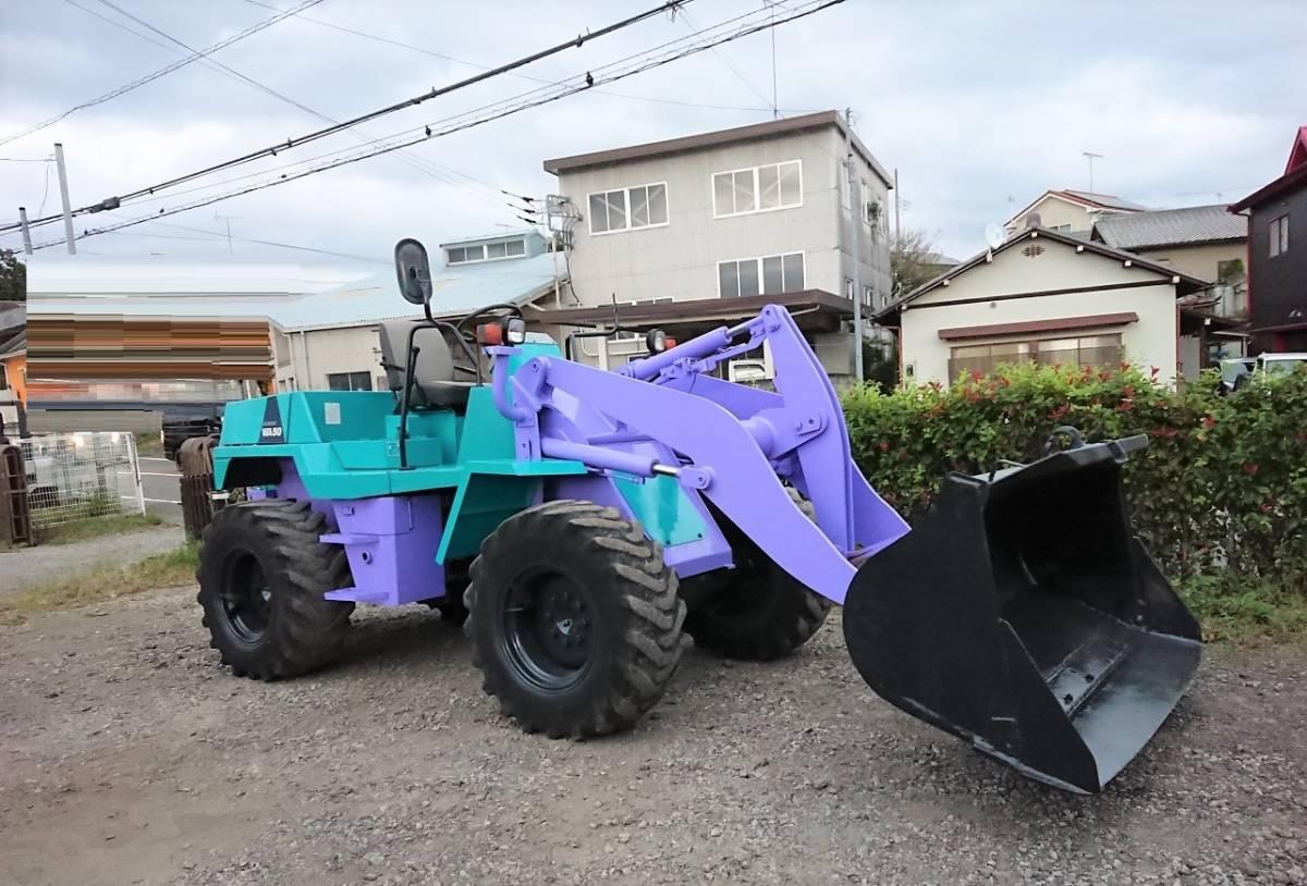 「ホイルローダー コマツ ディーゼル WA50-1 KOMATSU タイヤショベル ショベルローダー 運搬 除雪 酪農 【税込】 」の画像2