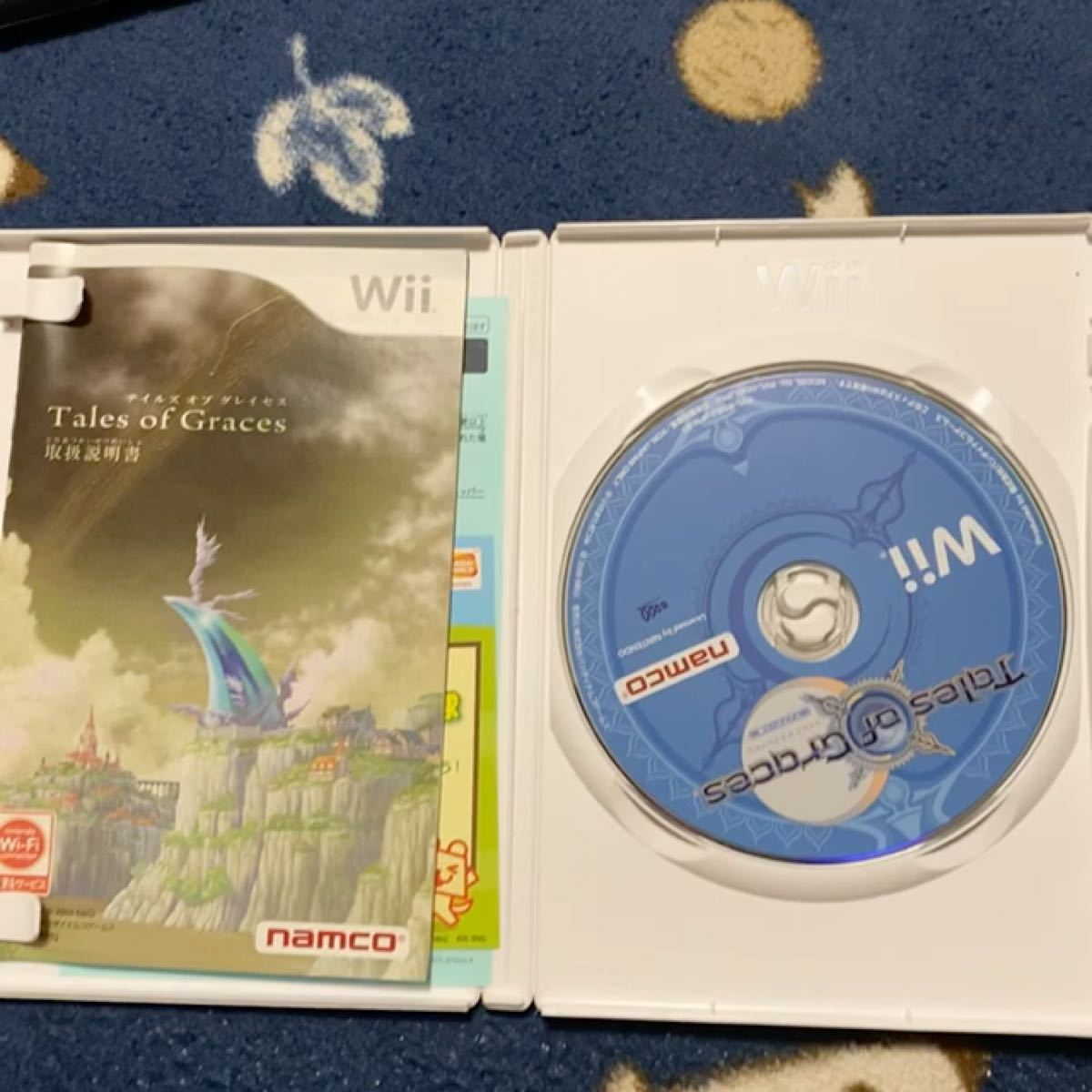 Wii tale of gracesソフト
