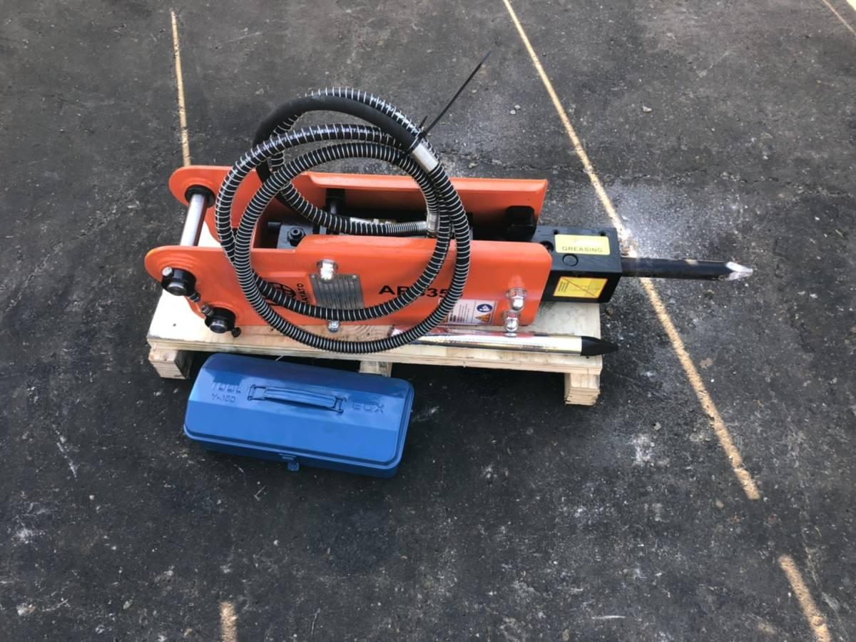 「油圧ブレーカー PC07 PC10 PC15 PC20クラス 未使用」の画像1