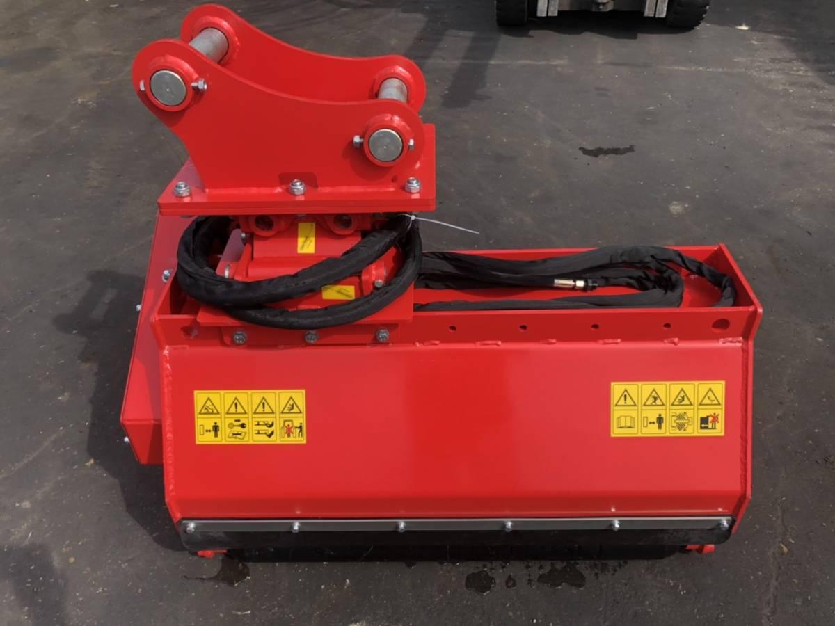 「油圧ショベル装着式草刈り機 ワンタッチ ローラー付き PC78クラス 0.25クラス 未使用」の画像2