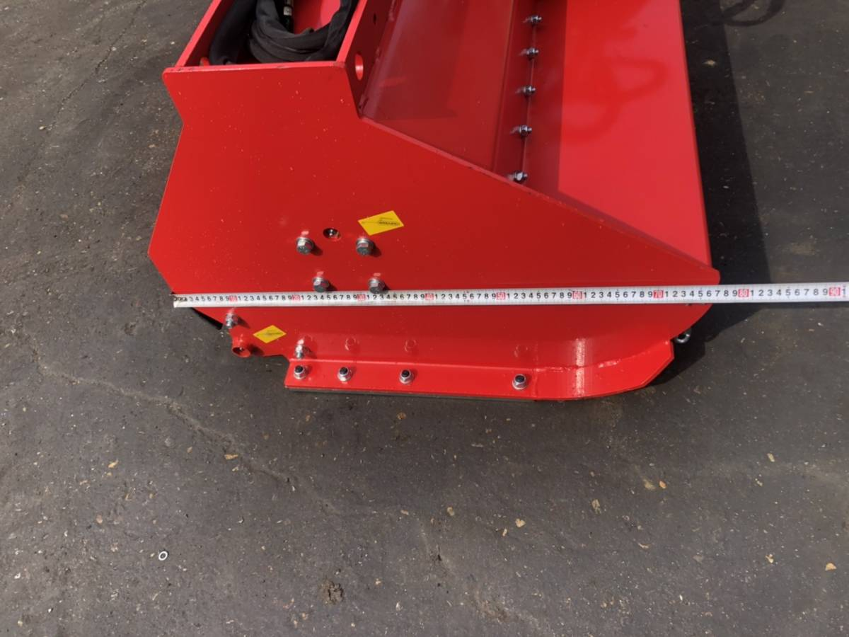 「油圧ショベル装着式草刈り機 ワンタッチ ローラー付き PC78クラス 0.25クラス 未使用」の画像3