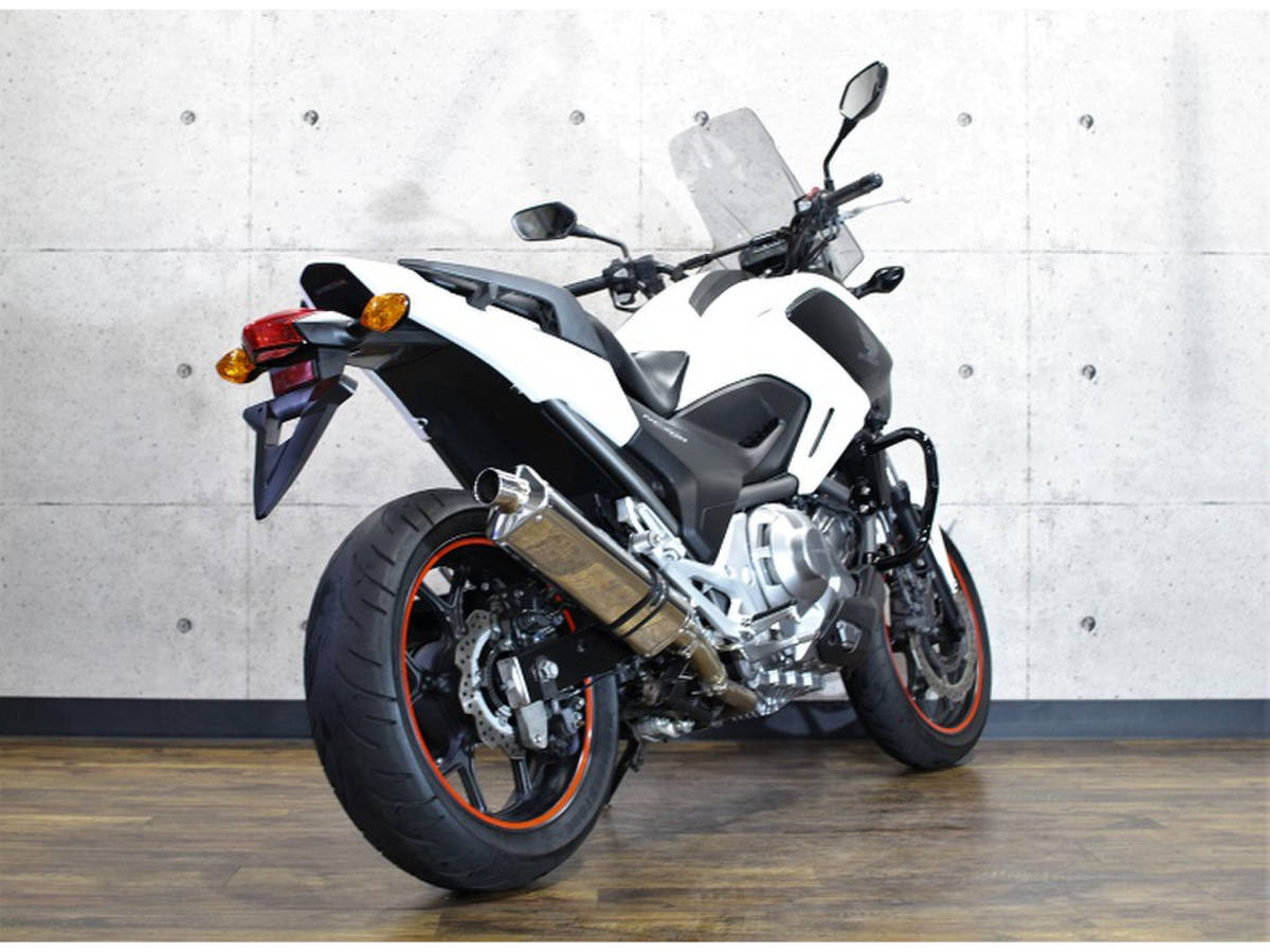 「NC700X DCT ABS 距離:10,853km 社外サイレンサー・ETC・ABS・スクリーン・GPヒーター・EGガード」の画像2