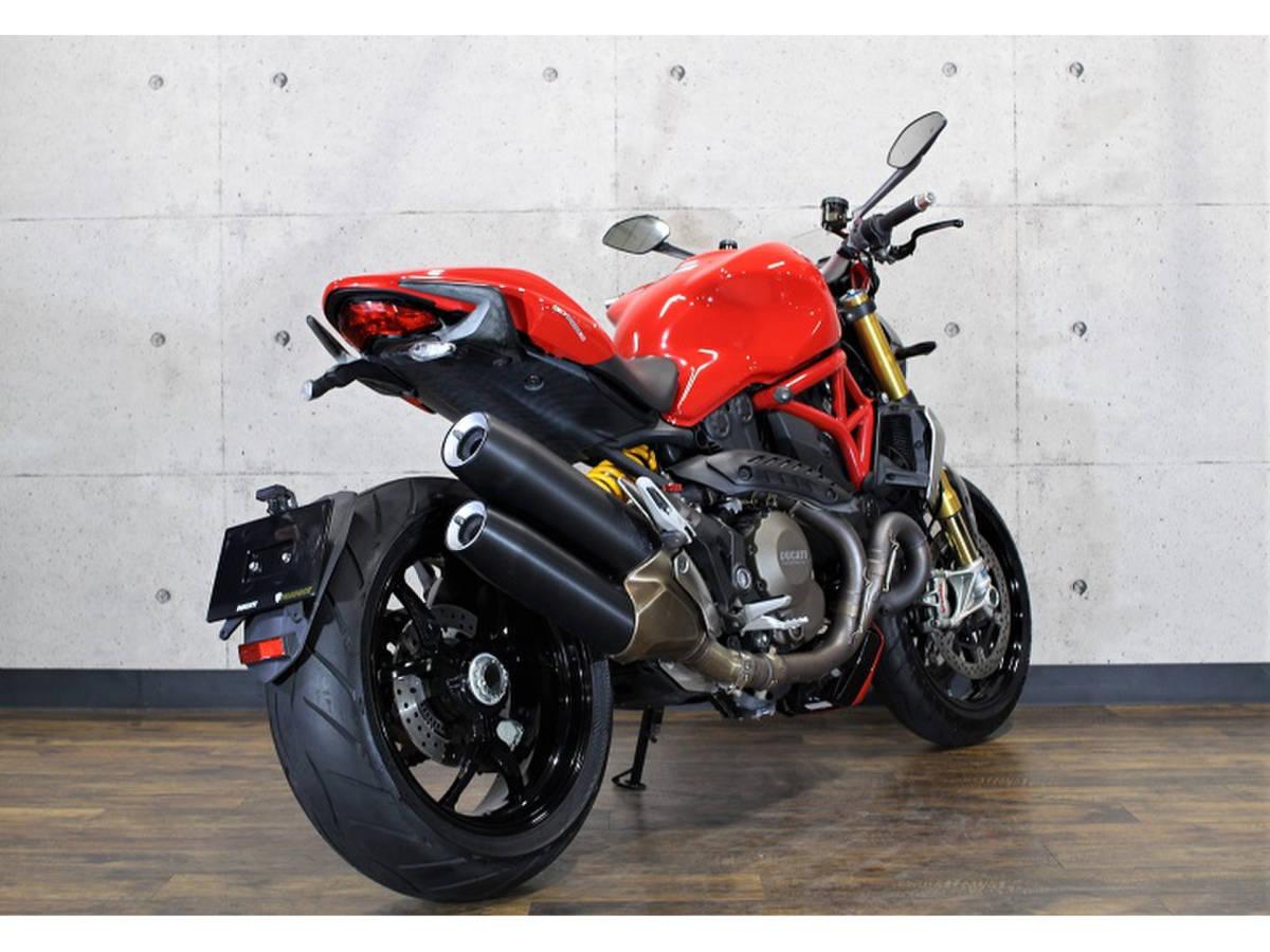 「ドゥカティモンスター1200S 距離:15,784km ETC・ABS・USB電源 前後オーリンズ装備モデル Ducati Monster」の画像2